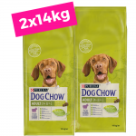 2 X DOG CHOW 14Kg Adult com Borrego