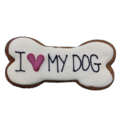 Biscoito I Love My Dog Rossi Pets Bakery 60g