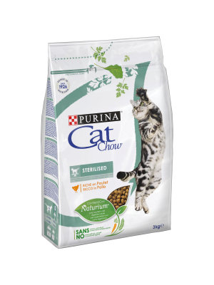 CAT CHOW Sterilised 3kg