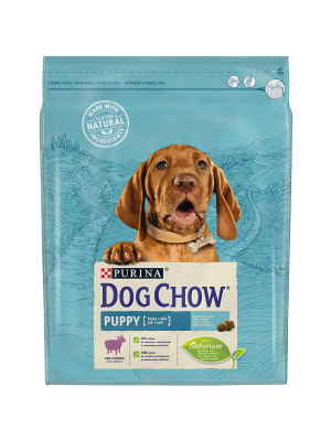 DOG CHOW Puppy com Borrego 2,5Kg