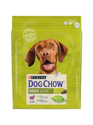 DOG CHOW Adult com Borrego 2,5kg