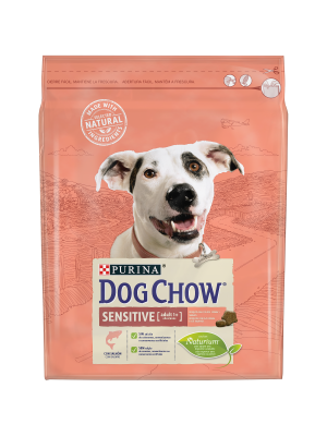 DOG CHOW Adult Sensitive com Salmão 2,5kg
