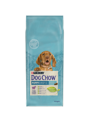 DOG CHOW Puppy com Borrego 14Kg