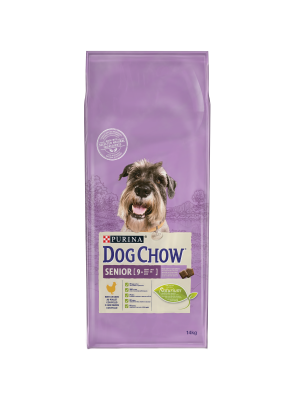 DOG CHOW Sénior/Frango 14kg