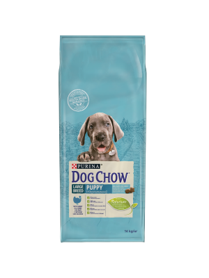 DOG CHOW Large Breed Puppy com Perú 14kg