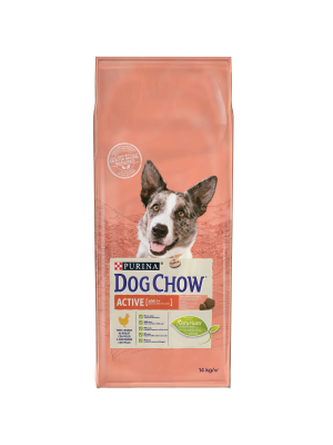 DOG CHOW Adult Active/Frango 14kg
