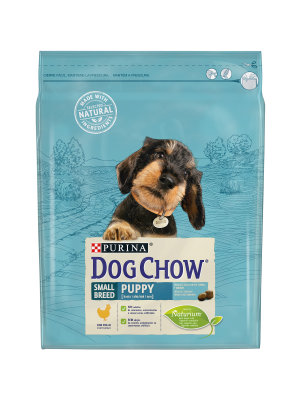DOG CHOW Small Breed Puppy com Frango 2,5kg