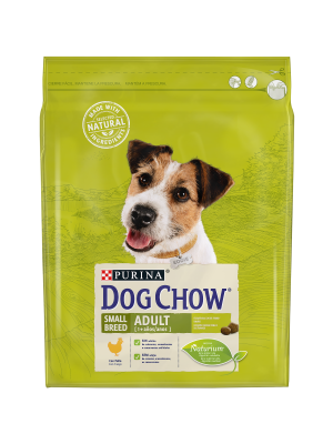 DOG CHOW Small Breed Adult com Frango 2,5kg