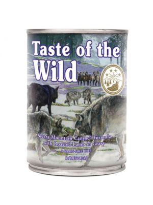 Taste of the Wild Sierra Montain Borrego Lata de 390g