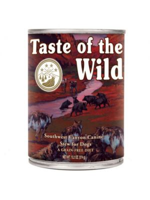 Taste of the Wild Southwest Canyon Javali Lata de 390g
