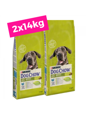2 X 14kg DOG CHOW Large Breed Adult/Perú+OFERTA