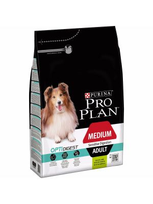 PURINA PRO PLAN Medium Adult com OPTIDIGEST rico em Borrego 3Kg