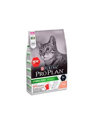 PURINA PRO PLAN Gato Sterilised com Salmão 3kg