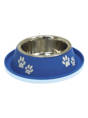 Comedouro Azul Stell Bowl Croci 400ml
