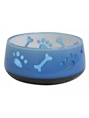 Comedouro Azul Doggy Bowl Croci