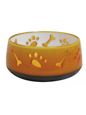 Comedouro Amarelo Doggy Bowl Croci