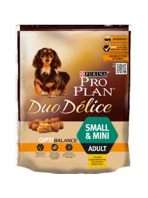 Purina PRO PLAN DUO DELICE Small & Mini Adult com Frango e Arroz 700g
