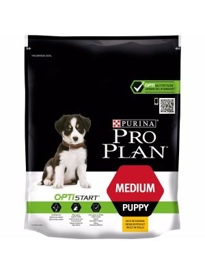 Purina PRO PLAN Medium Puppy OPTISTART rico em Frango 800g