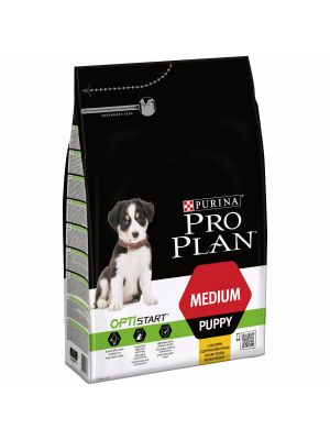 Purina PRO PLAN Medium Puppy OPTISTART rico em Frango 3Kg