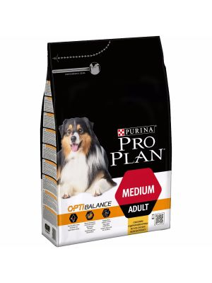 Purina PRO PLAN Medium Adult OPTIBALANCE rico em Frango 3kg