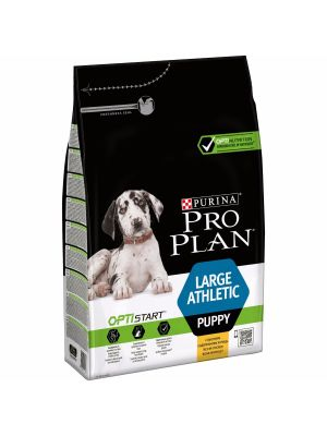 Purina PRO PLAN Large Athletic Puppy OPTISTART rico em Frango 3kg