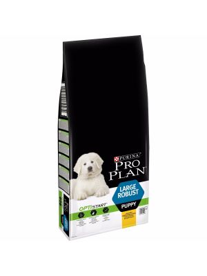 PRO PLAN Large Robust Puppy/Frango 12kg+OFERTA