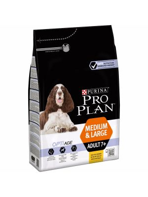 Purina PRO PLAN Medium & Large Adult 7+ rico em Frango 3kg