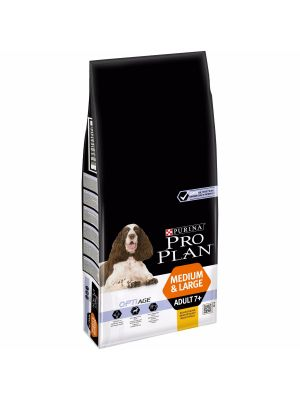 PRO PLAN Medium/Large Adult 7+ Frango 14kg+OFERTA