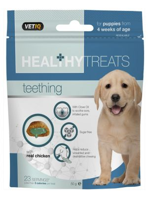 Teething Biscoitos Dentais Vet Iq 50g