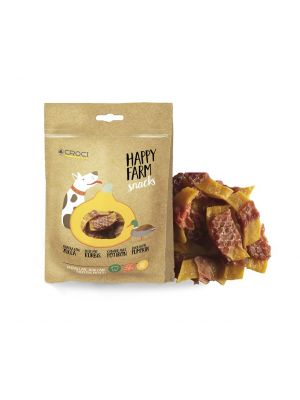 Happy Farm Snack Pato e Abóbora 80g