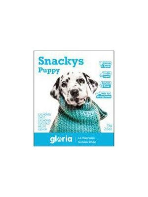 Snacks Frango Puppy Gloria 75g